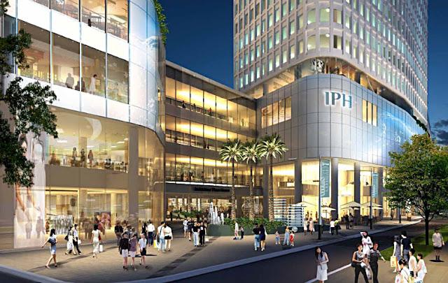 Trung tâm thương mại dự án Samsora 105