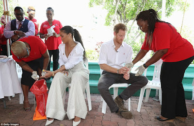 Prince Harry And Singer Rihanna Screened Together For HIV