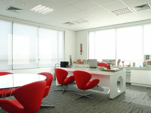 Azul blue noviembre 2012 for Decoracion de oficinas modernas minimalistas