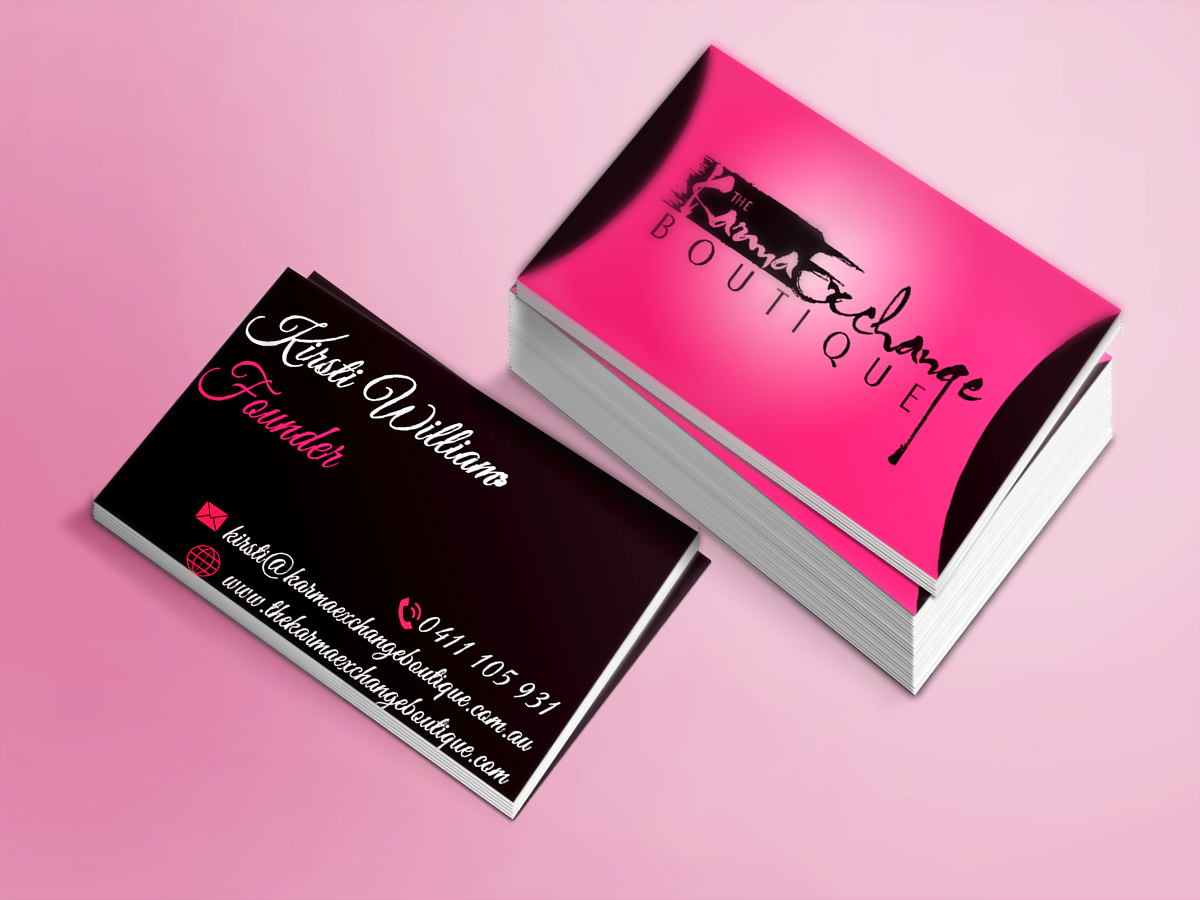 Fashion Business Cards - Business Card Tips