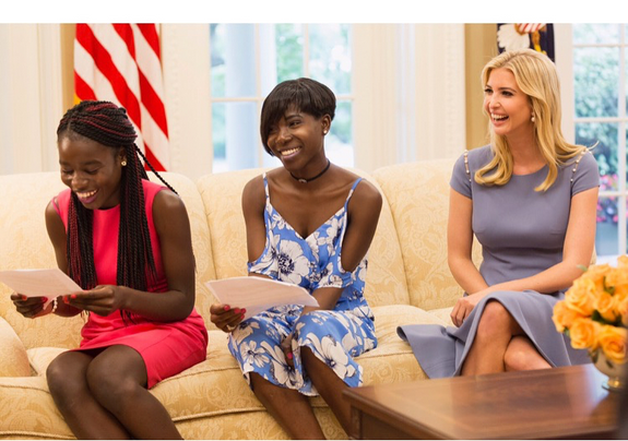 Ivanka-Trump-and-Chibok-girls-1