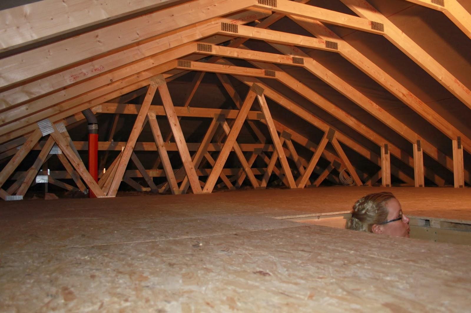 Unser Traum Vom Scan Haus Dachbodenausbau Planung Wandbelage