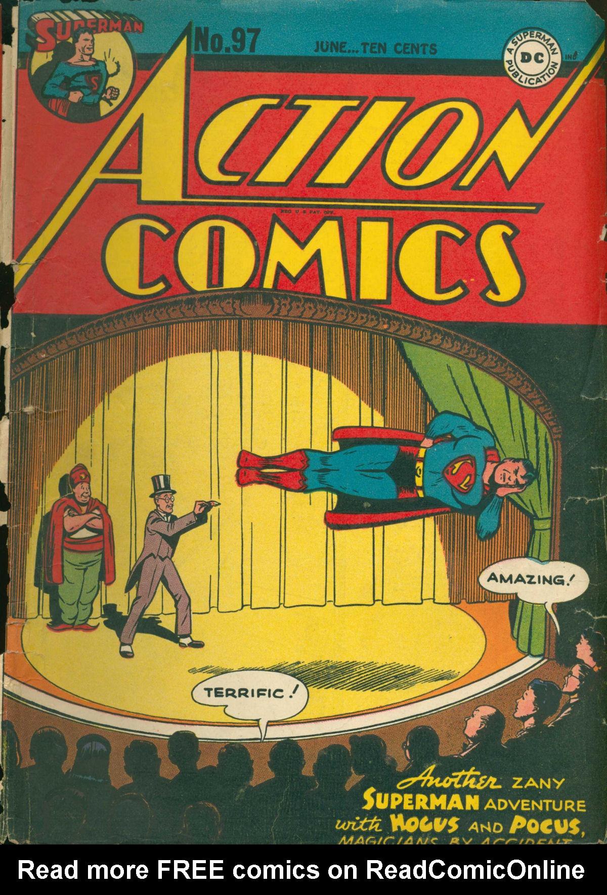 Action Comics (1938) 97 Page 1