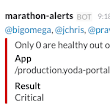 My Standalone Complexities: Marathon-Alerts: Alerting tool for Marathon Apps