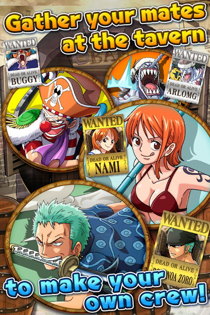 ONE PIECE TREASURE CRUISE APK Mod Latest