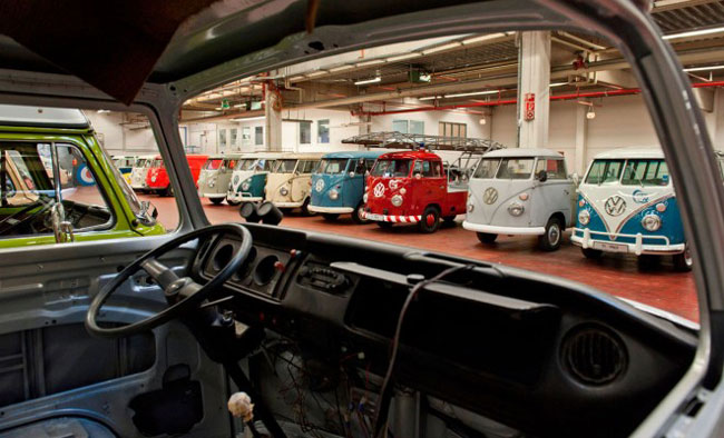 Factory Restorations Of The Volkswagen Bus