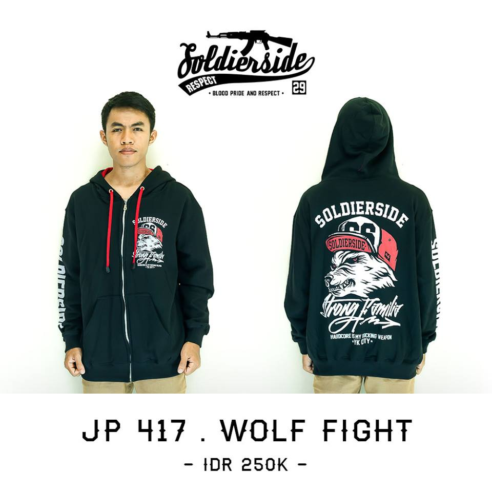 JAKET DISTRO SOLDIERSIDE JOGJAKARTA CLOTHING FASHION DISTRO