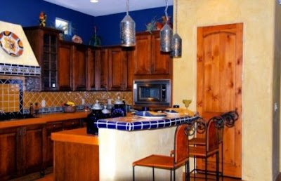 Decorar cocinas al estilo mexicano cocina y muebles - Encimeras rusticas ...