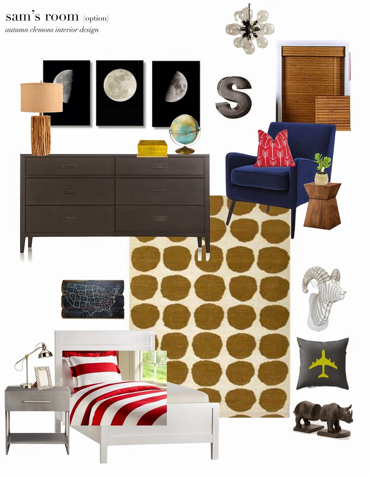 Room Design Program: Design Dump: Boys Room- Design Plan, TWO Ways