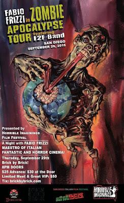 Fabio Frizzi: Zombie Apocalypse Tour (poster)