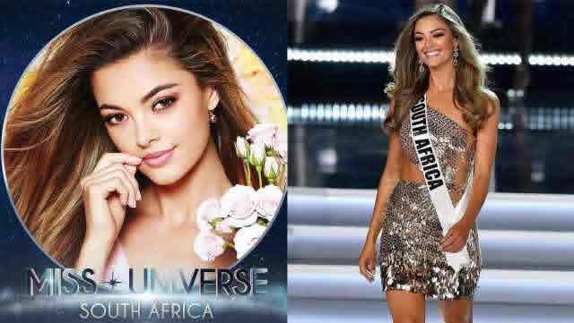 La sudafricana Demi-Leigh Nel-Peters se convirtió en Miss Universo 2017