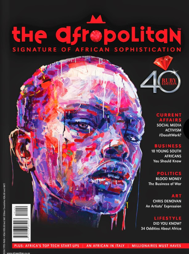 Latest Photojournalism [2 x articles] Published in November/December 2014 AFROPOLITAN magazine