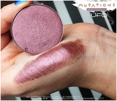 review UFO  ombretto swacthes  - Collezione Mutations -Neve cosmetics