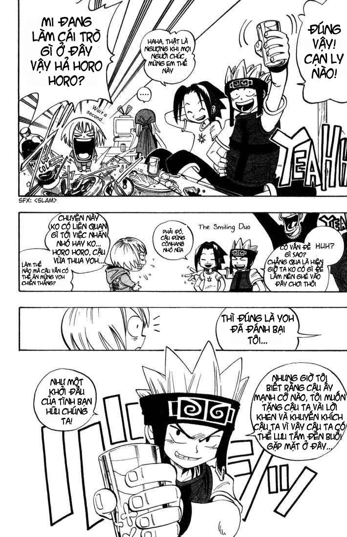 Shaman King [Vua pháp thuật] chap 38 trang 3