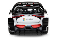 Toyota Yaris WRC 2017 Rear