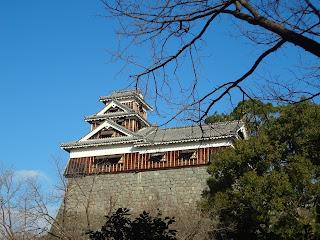 熊本地震前の熊本城(櫓)