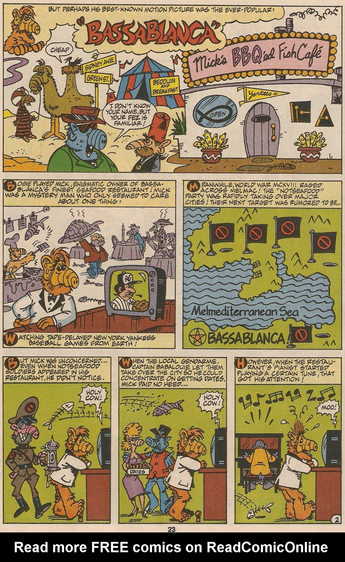 Read online ALF comic -  Issue #48 - 24