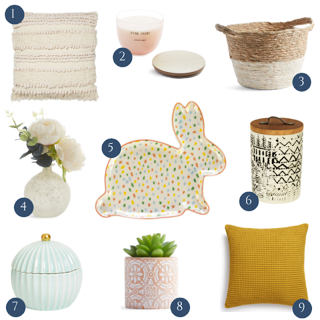 update your home for easter and spring with home decor on the high street spring summer 2019 for under £20.