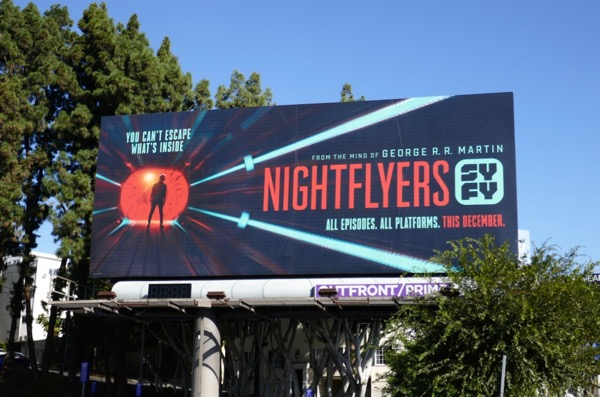 Nightflyers series premiere billboard