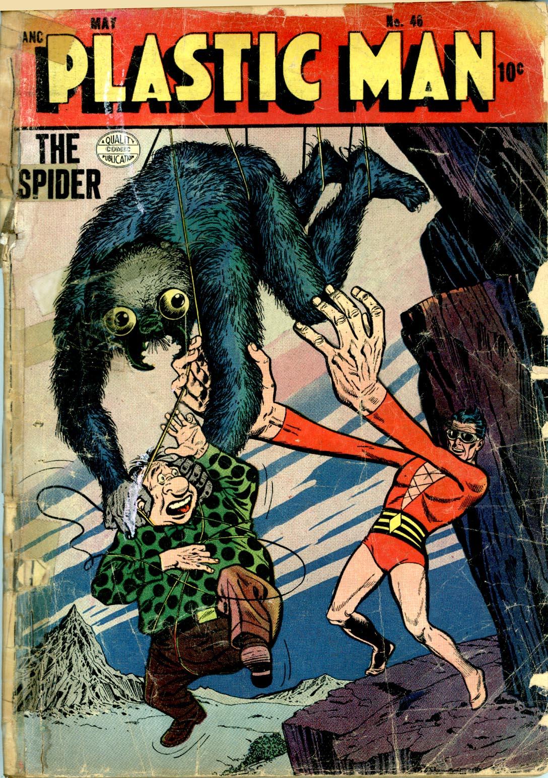 Plastic Man (1943) 46 Page 1