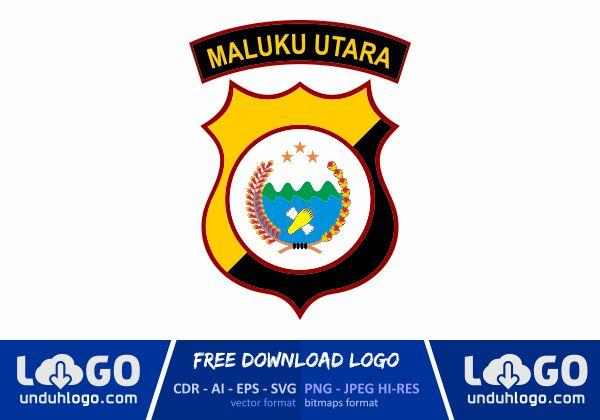 Logo Polda Maluku Utara