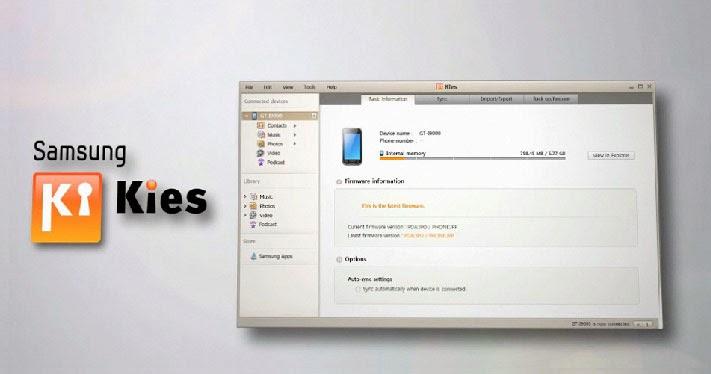 Download Samsung Kies 2.6.2.14014 Full Version