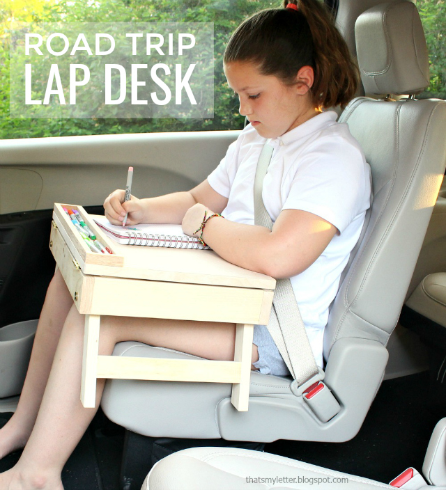 diy portable lap desk