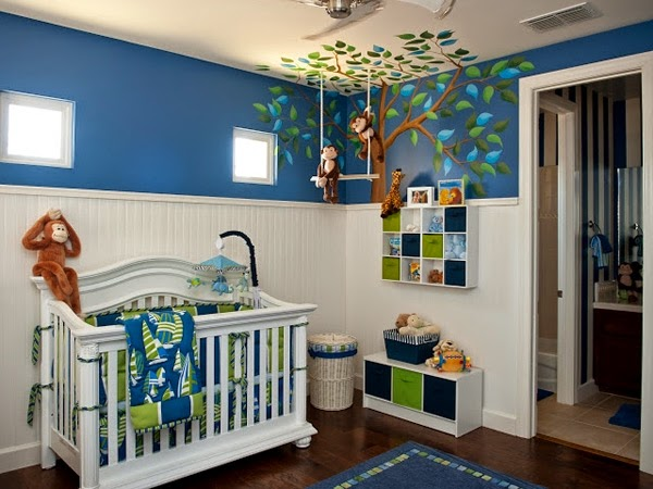 Decorar un dormitorio de bebé - Colores en Casa