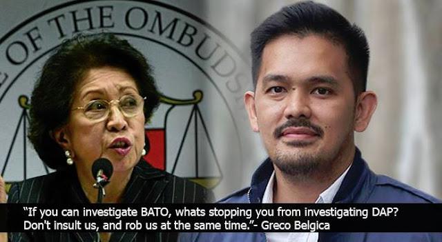 """Greco Belgica Slams Ombudsman Morales: """"Ang Daming Kasong Nakatambak Sa Inyo, Bakit ito Inuna Nyo?"""""""