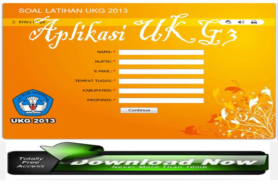 Download Soal Uji Kompetensi Dan Aplikasi Ukg 2015 Lengkap