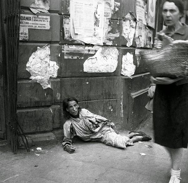 Fotografia de Heinz Joest, na Polônia, em 1941