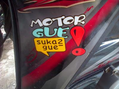 Cara Melepas Cutting Stiker / Skotlet Motor