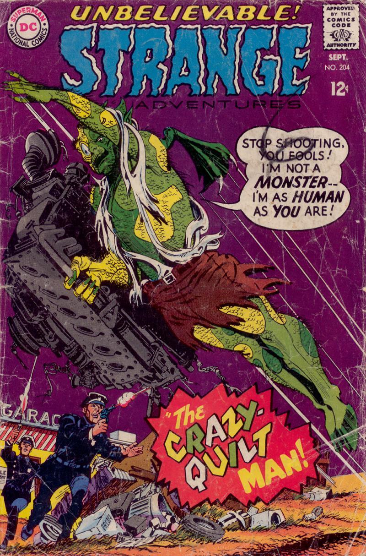 Strange Adventures (1950) issue 204 - Page 1