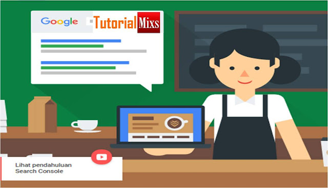 cara mengaitkan blog dengan search console google