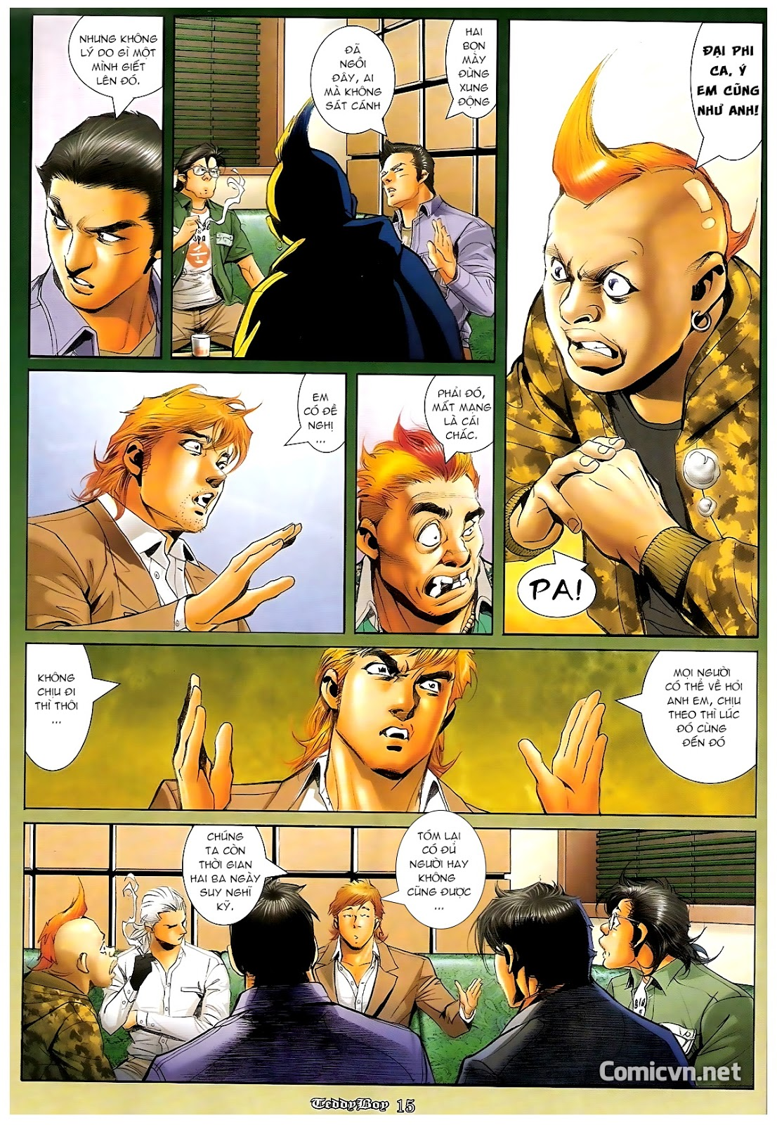 Người Trong Giang Hồ - Chapter 1216: Tráng Sĩ - Pic 12