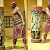 Photo: Segun Arinze plays the 'Sato' drum in Badagry dressed as one of the drummers