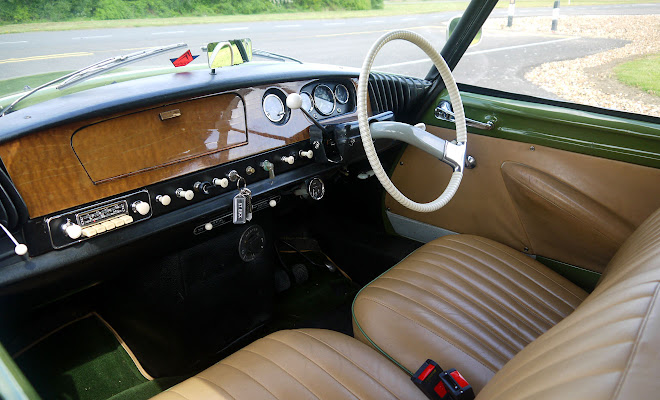 Citroen ID 19 interior