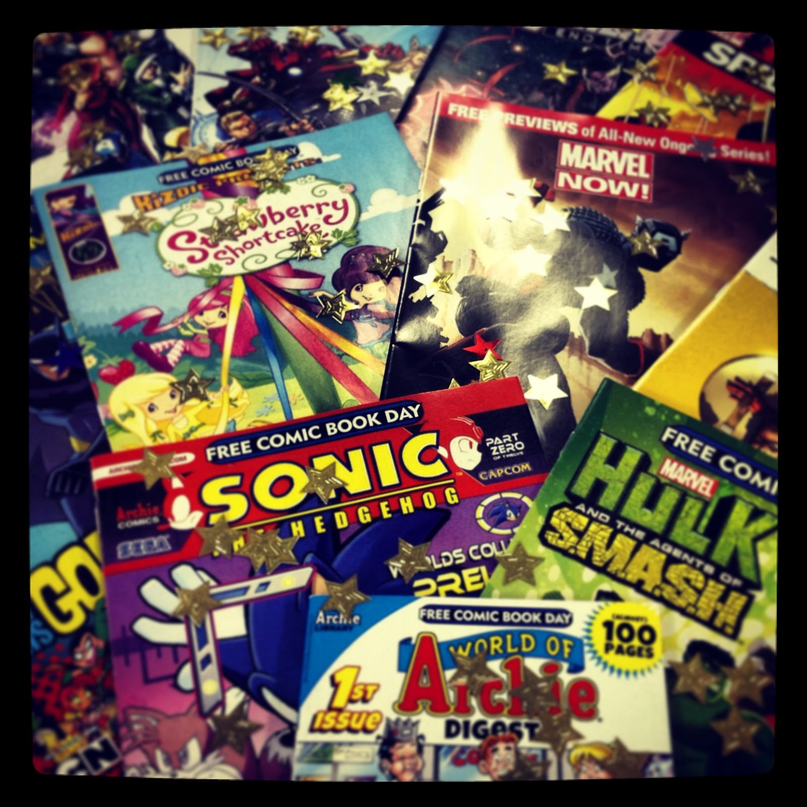 Free Comic Book Day Parramatta: News/Events @ Your Library: Free Comic Book Day Hits This