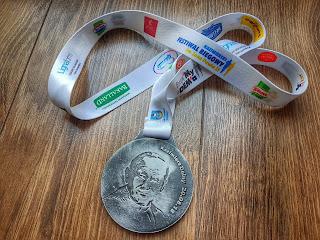 Medal Kazimierski Festiwal Biegowy im. Jana Pawła II