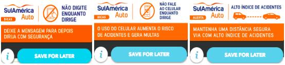 anuncios SulAmerica Waze Ads