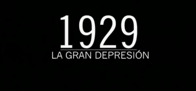 La gran depresión Documental 1929 wall street