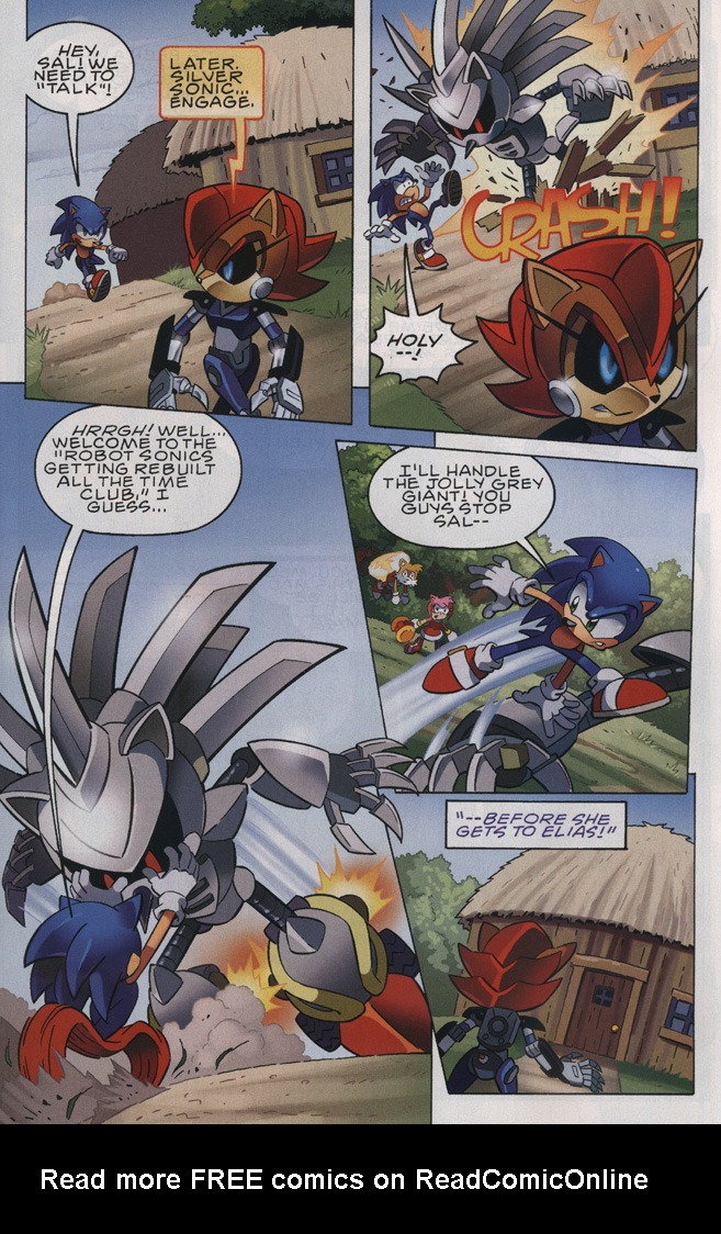 Read online Sonic The Hedgehog comic -  Issue #239 - 9