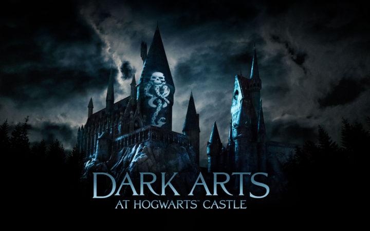Novo show de luzes no Castelo de Hogwarts