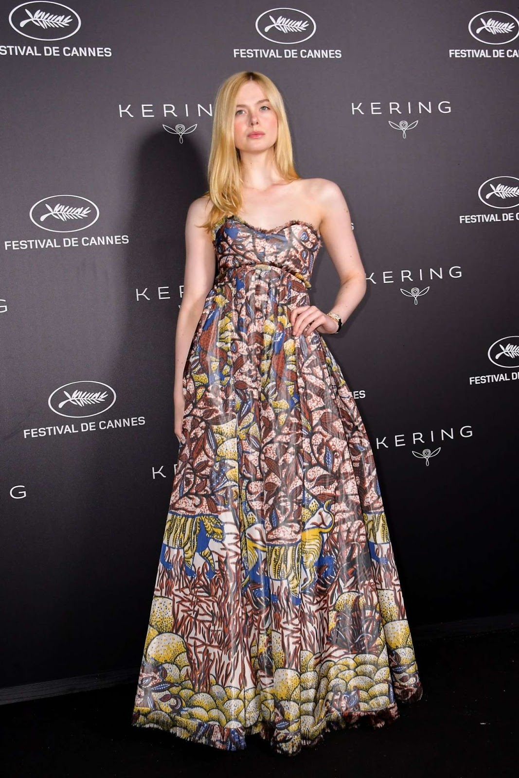 Elle Fanning – Kering's Women in Motion Awards 2019 in Cannes