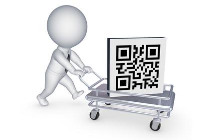 Illusatration QR code: outil de promotion dans une stratégie de marketing mobile