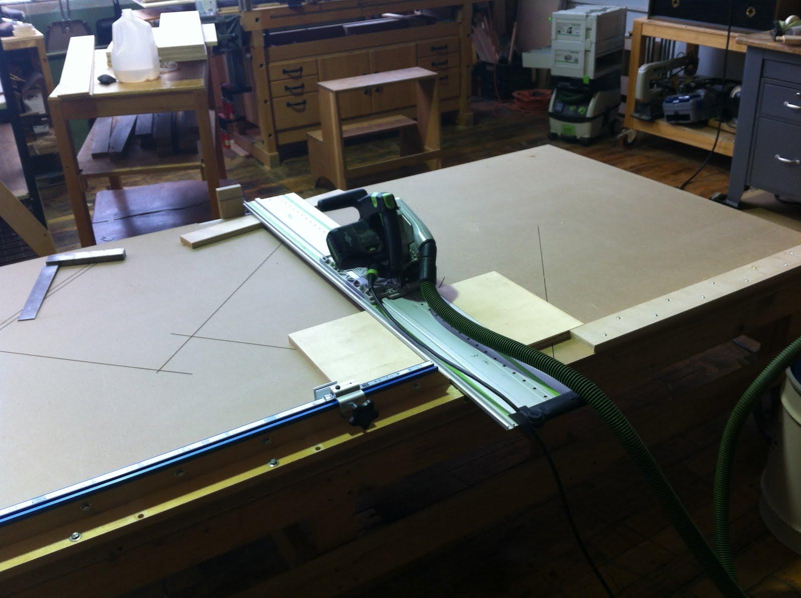 James Watriss Festool Cutting Table