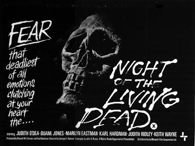 Cartel promocional La noche de los muertos vivientes