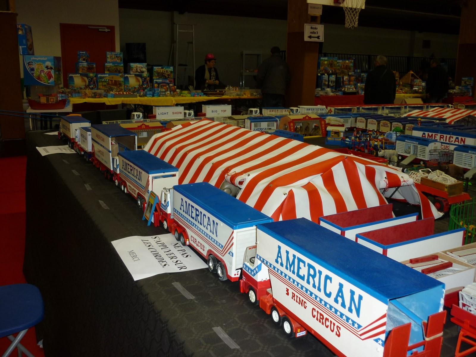 Ongebruikt Circusmodellbau: American Circus Playmobil IR-68