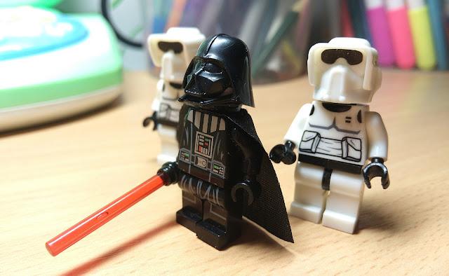 Минифигурки лего Дарт Вейдер и штурмовики, купить, Звездные войны, Star Wars