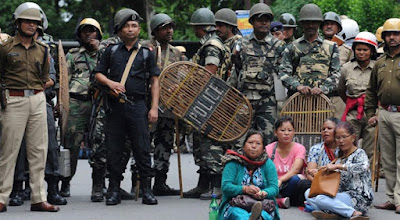 Central forces starts withdrawing from Darjeeling